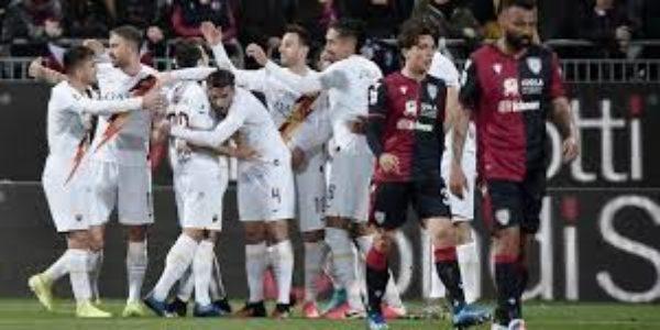 Calcio, Serie A: Cagliari a tratti, Roma affanno cercato e gioco ritrovato.