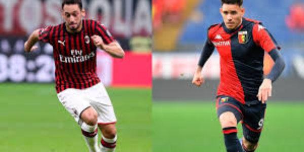 Calcio, serie A: Il Genoa batte il Milan in una cornice surreale