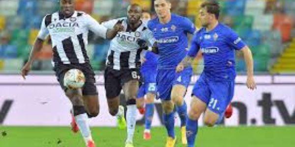 Calcio, Serie A: Udinese – Fiorentina, ha vinto la paura di non perdere.