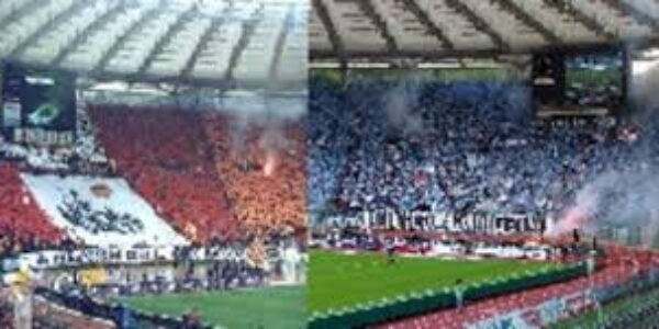 Sport/Calcio: Curva Sud e Nord; i due poli che non si attraggono