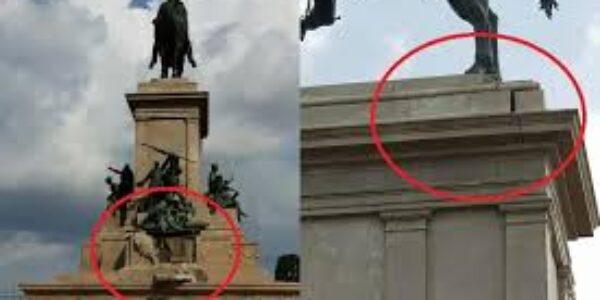 """Arte a Roma: """"colpo di fulmine"""" ….povero Garibaldi"""