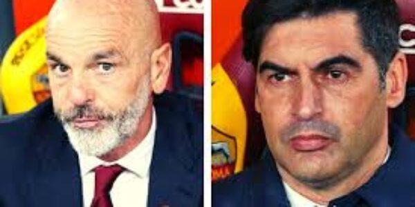 Calcio/Milan – Roma: Fonseca e Pioli a confronto