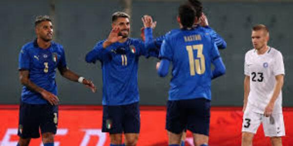 Calcio/Nazionale Italia – Estonia: azzurri, vittoria senza storia