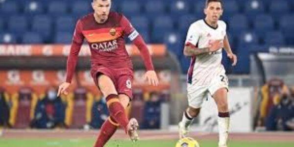 Sport/ Calcio: la Roma batte il Cagliari (3 a 2) ed è terza in classifica