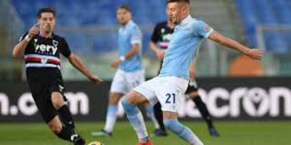 Sport/ Calcio: Lazio, minimo sforzo massimo risultato. (Lazio-Sampdoria 1-0)