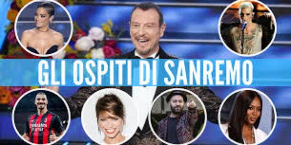 Sanremo/Gli ospiti della prima serata
