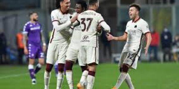 Sport/Calcio: Roma sbanca Firenze in zona Cesarini (2-1)