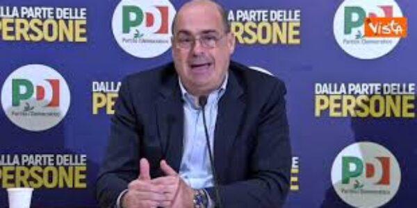 Politica/Zingaretti si dimette da segretario del PD