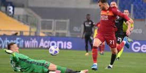 Sport/Calcio: Roma- Bologna (1-0)
