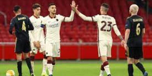 Sport/Calcio: Roma – Ajax (1-1) pagelle di TVGNEWS per allenatore ed arbitro