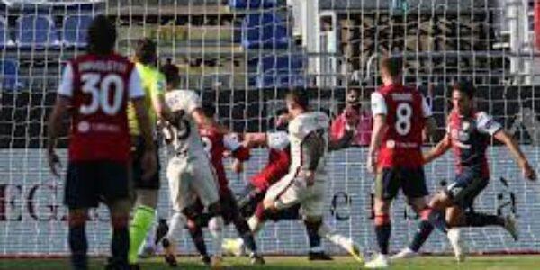Sport/Calcio: Cagliari – Roma (3-2) le pagelle di TVGNEWS