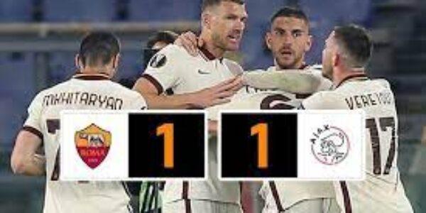 Sport/Europa Leaugue: i Lupi stendono i Lancieri (Roma-Ajax 1-1) e vanno in semifinale