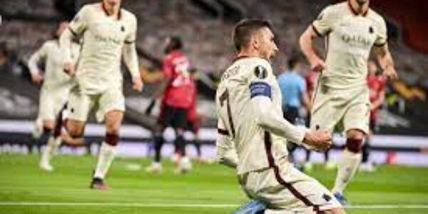 Sport/Calcio: Europa League, per la Roma i sogni muoiono all'alba (Manchester Untd – Roma 6-2)