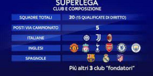 Sport/Calcio: Superlega..No, superesa. Il commento di TVGNEWS