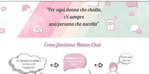 Donna/Mama chat: un aiuto virtuale alle donne