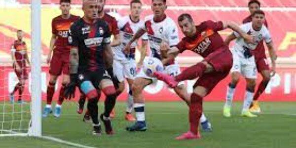Sport/calcio: Roma -Crotone (5-0) le pagelle di TVGNEWS per arbitro e allenatore