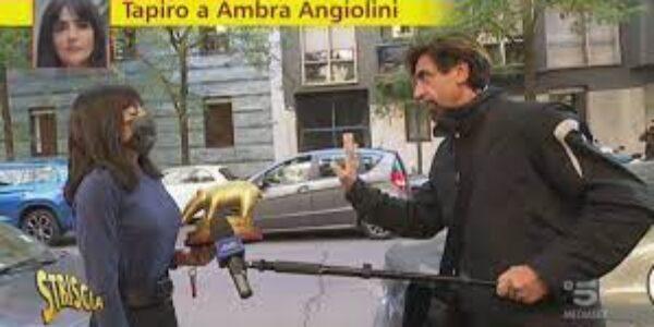 Gossip/Ambra Angiolini: un tapiro con destinazione sbagliata